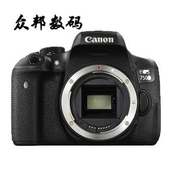 佳能/CanonEOS750D单机机身(不含镜头)