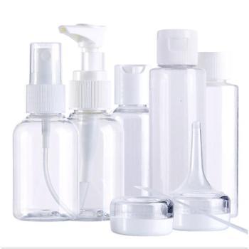 双艺便携旅行空瓶喷雾瓶旋盖瓶/面霜盒泡瓶 化妆品包材分装瓶美妆套装