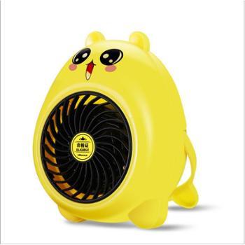 迷你暖风机卡通取暖器浴室家用电暖气宿舍小型电暖扇电暧气烘干