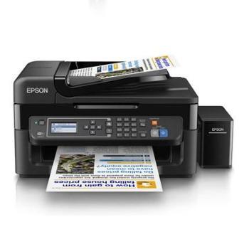 【宝鸡正昊贸易】爱普生Epson L565墨仓式彩色办公网络传真打印复印扫描无线一体机