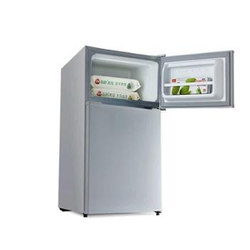 【宝鸡正昊贸易】Midea/美的 BCD-88CM冷冻藏双门小冰箱单身必备家用节能省电静音