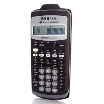 德州仪器TI BA II plus金融计算器