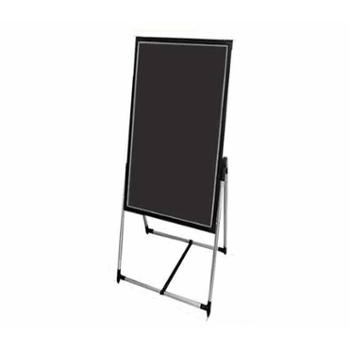 纽缤 黑板荧发光屏手写立式写字板留言板 电子黑板 广告牌