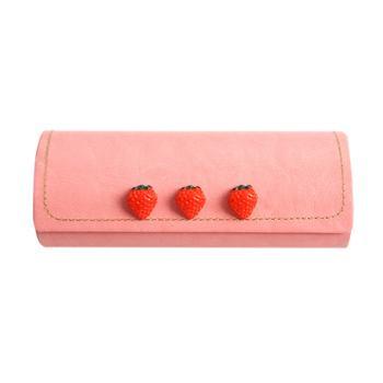 三年二班 大容量创意草莓笔袋一个装