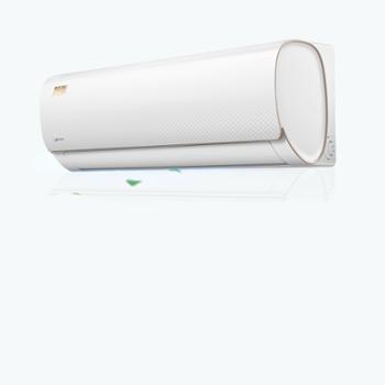 美的KFR-35GW/WDAA3@大1.5匹P变频智弧智能冷暖壁挂式空调