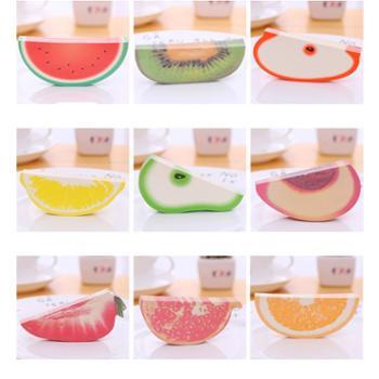 创意水果便签本3D立体便签纸无粘性可撕网红小清新 1枚装