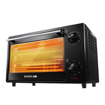 DACEL/达臣家用小型16L多功能电烤箱烘焙JK16A
