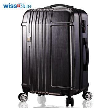 维仕蓝wissblue登机托运箱密码箱拉杆箱行李箱20寸A704