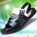 新款男夏季凉鞋男超纤沙滩鞋子男士凉拖鞋男式潮人字拖露趾男凉鞋B-5811