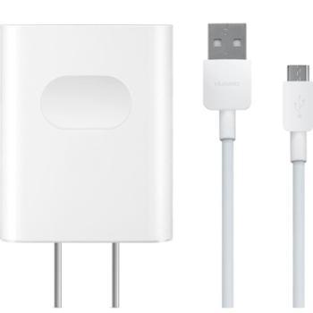 华为(HUAWEI)5V2A/电源适配器/带线充电器/手机充电器/充电头 适用于非Type-C接口的安卓手机平板 白色