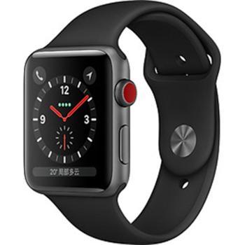 【苹果新款手表S3】Apple Watch Series 3智能手表 GPS+蜂窝网络款 铝金属表壳
