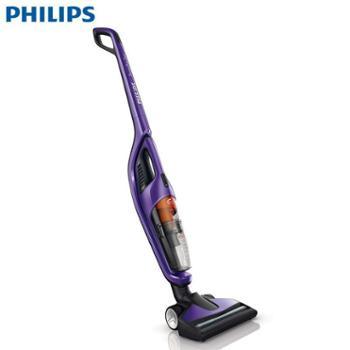 飞利浦(Philips)家用立式充电无线吸尘器FC6166 手持式车用可分体子母系列吸尘机 亮闪紫