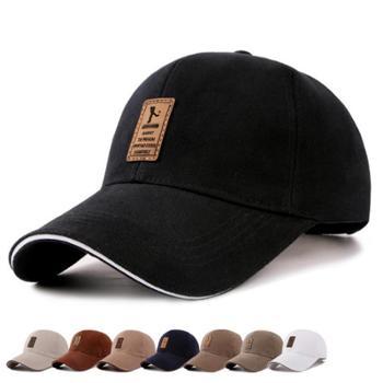 冠利德新款韩版男士 棒球帽 棉质鸭舌帽秋季帽子户外运动遮阳帽【新款包邮】