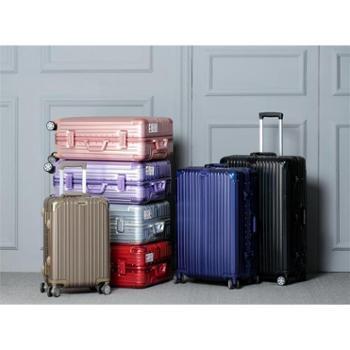 新款锦鸿明星同款铝框箱拉杆箱旅行箱行李箱万向轮登机箱20-29寸【'新款包邮】