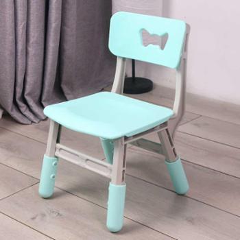 加厚儿童椅子幼儿园靠背椅宝宝塑料升降椅小孩家用防滑凳子包邮
