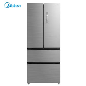 Midea/美的BCD-439WTPM(E)四门无霜家用法式多门变频风冷电冰箱