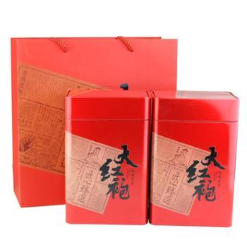 小茶犊大红袍武夷岩茶浓香茶叶礼盒装500g