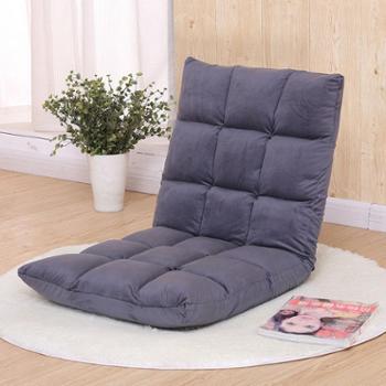 一米色彩创意懒人沙发榻榻米单人折叠椅床上靠背椅飘窗椅懒人