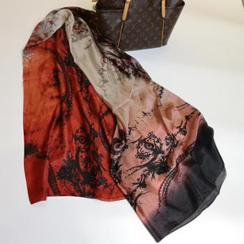 Montlur梦拉奢华真丝围巾披肩