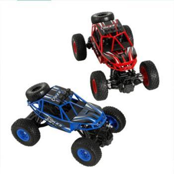贝恩施儿童合金越野车模型玩具 四驱避震1:20金属越野攀岩遥控车