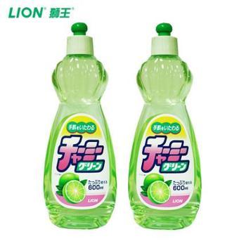 日本原装进口妈妈柠檬CHARMYGREEN蔬果洗洁精2瓶装CX