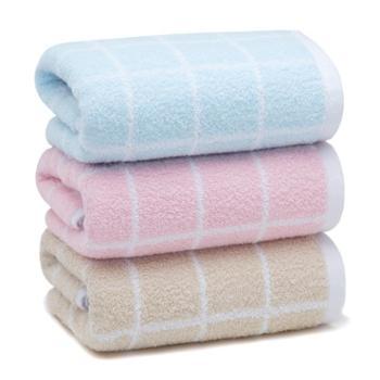 洁丽雅成人毛巾3条装