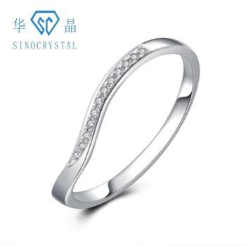 华晶培育钻石-18K金钻石戒指8