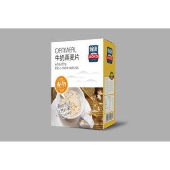莜康牛奶即食燕麦片560g(张家口特产)