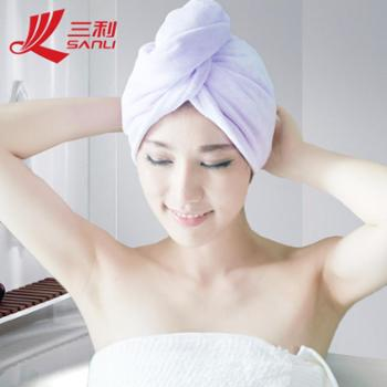 三利直销超细纤维免吹干干发帽加大加厚超吸水高档干发巾