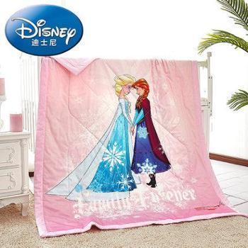 Disney/迪士尼纯棉空调被儿童夏凉被卡通薄被子幼儿园棉花夏被
