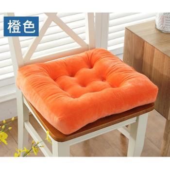 超柔短毛绒加厚坐垫办公室靠背垫电脑椅子垫冬季保暖餐椅垫汽车垫
