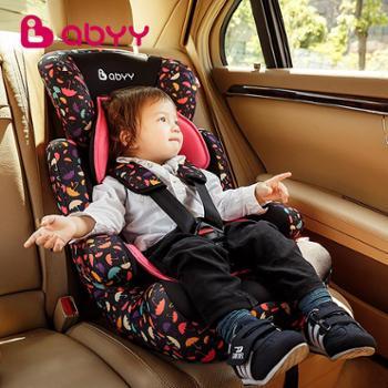 Abyy艾贝 儿童安全座椅汽车用车载便携式婴儿9月-12岁0-4岁3C认证