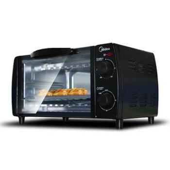 【陕西晟木电子】Midea/美的 T1-L101B家用多功能烘焙10升迷你小电烤箱
