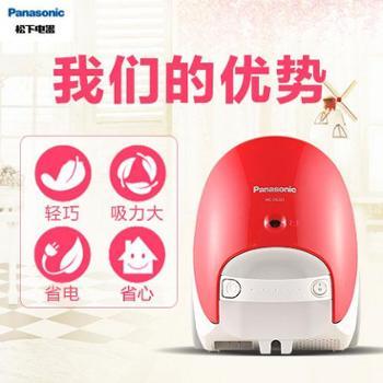 松下吸尘器家用迷你卧式大功率手持式小型吸尘机地毯MC-CG321