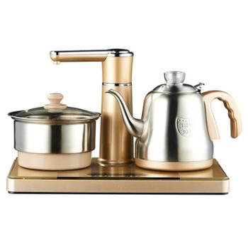 美菱全自动上水茶壶电磁茶炉小型平板家用喝茶具套装烧水壶泡茶台