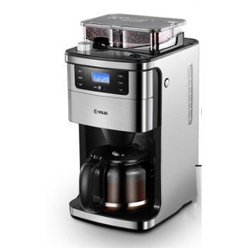 东菱咖啡机家用小型全自动美式咖啡机现磨DL-KF4266