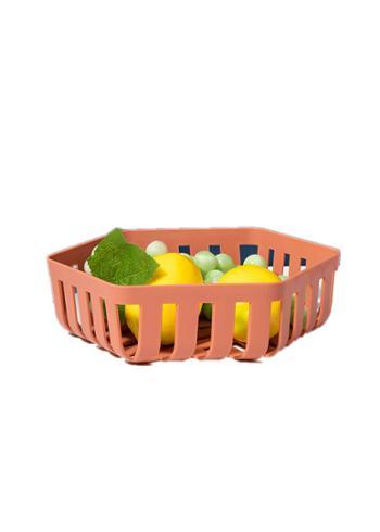 现代创意水果盆果篮客厅茶几家用北欧简约风格沥水果盘厨房洗菜篮
