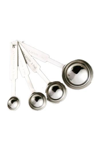 名器量勺不锈钢盎司器 德式加厚量杯不锈钢量杯标准量酒器量匙