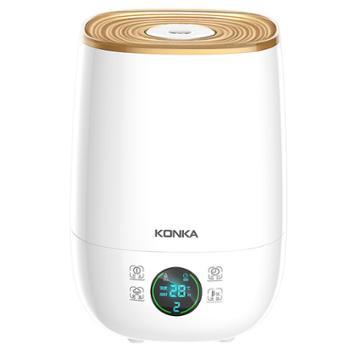康佳加湿器家用静音卧室大容量雾量孕妇婴儿净化空气小型香薰喷雾