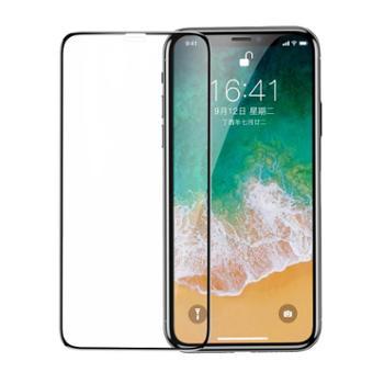 Baseus/倍思 iPhone X 全屏全玻璃钢化膜0.3mm丝印 透明 防蓝光