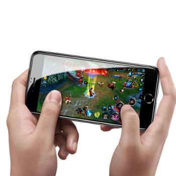 倍思 iPhone7手机高清保护膜 iphone8plus全屏曲面5D钢化膜防蓝光