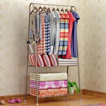 索尔诺衣帽架落地挂衣架衣服架卧室金属创意简易现代衣架