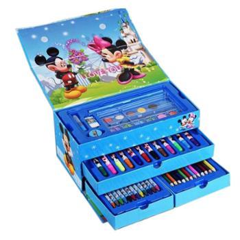儿童绘画礼盒文具套装学生画笔手提装水彩笔生日礼物