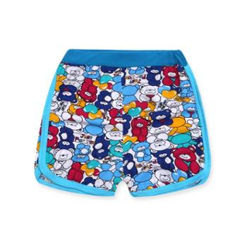 俞兆林 夏季热款儿童印花短裤 宝宝沙滩裤