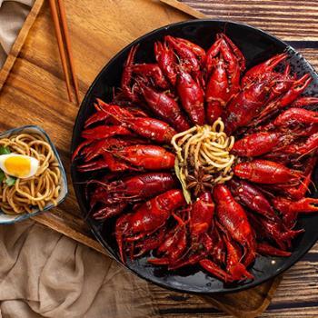 秘之醉风味小龙虾800g7-9钱大小净虾1斤12~17只滋味龙虾拌面十三香味