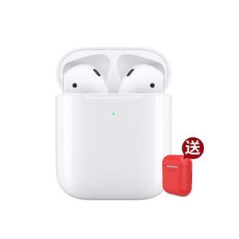 苹果新款 AirPods 苹果原装无线蓝牙耳机 配无线充电盒版