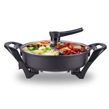 龙的(Longde)LD-HG160A 鸳鸯电火锅5L电热锅电煮锅家用 多功能电煮锅
