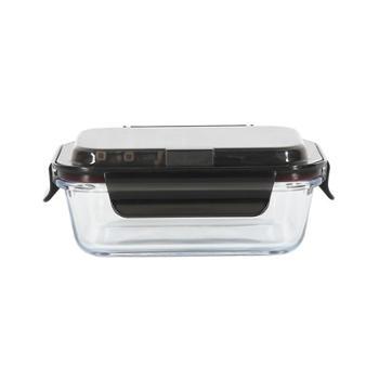 网易严选便携含餐具高硼硅玻璃保鲜盒