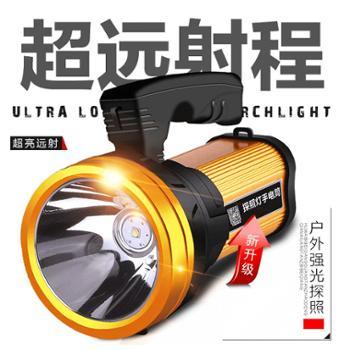 探长手电筒强光可充电超亮多功能手提氙气1000打猎特种兵户外探照灯