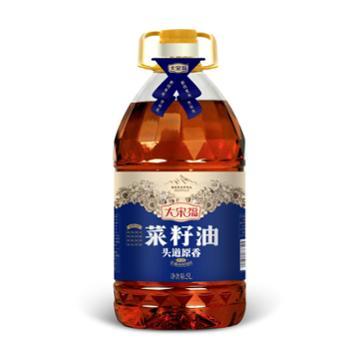 善融扶贫【大宋福】头道原香菜籽油5L